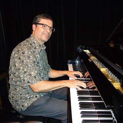 Jon Pemberton on piano